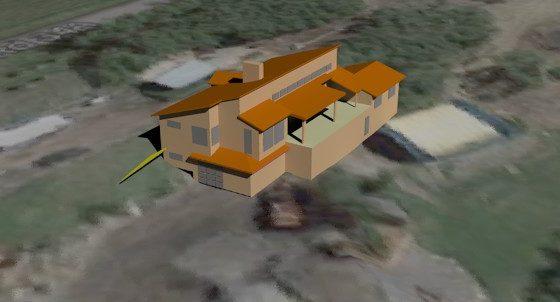New Home – massing model